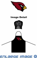 Apron & Chef Hat - BBQ Set - Arizona Cardinals