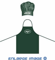 Apron & Chef Hat - BBQ Set - New York Jets