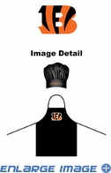 Apron & Chef Hat - BBQ Set - Cincinnati Bengals