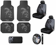 Auto Accessories Interior Combo Kit Gift Set - 10pc - Star Wars - Darth Vader
