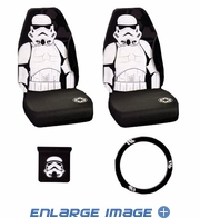 Auto Accessories Interior Combo Kit Gift Set - 4pc - Star Wars - Storm Trooper