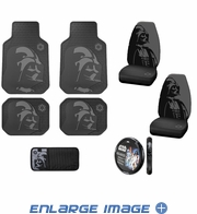 Auto Accessories Interior Combo Kit Gift Set - 8pc - Star Wars - Darth Vader