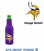 Bottle Cooler Koozie - Minnesota Vikings
