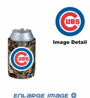 Can Cooler Koozie - Camo Style - Chicago Cubs