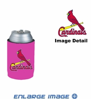 Can Cooler Koozie - Pink Style - St. Louis Cardinals