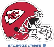 Car or Fridge Magnet - Giant Size - Kansas City Chiefs