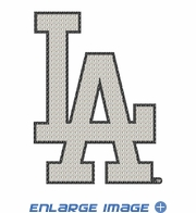 Car Trunk 3D Bling Emblem - Los Angeles Dodgers