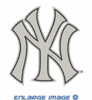 Car Trunk 3D Bling Emblem - New York Yankees