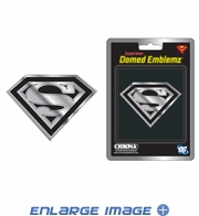 Car Trunk 3D Chrome Emblem - DC Comics - Superman - Logo