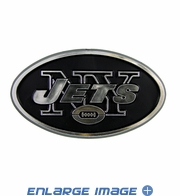 Car Trunk 3D Chrome Emblem - New York Jets