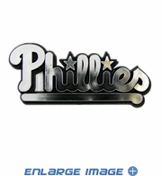 Car Trunk 3D Chrome Emblem - Philadelphia Phillies