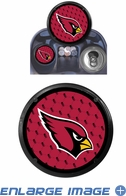 Coaster Air Freshener - Arizona Cardinals - Pair