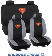 Combo Kit Gift Set - Automotive Interior - 9pc - Car Truck SUV - DC Comics - Superman - Logo