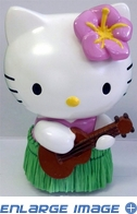 Dashboard Ornament - Hello Kitty - Hula Dancer