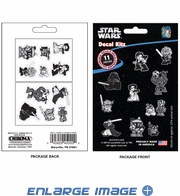 Decal Kit - Car Truck SUV - 11pc - Disney - Star Wars - Characters