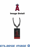 Diamond Plate Necklace - Los Angeles Angels of Anaheim