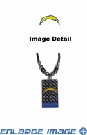 Diamond Plate Necklace - San Diego Chargers
