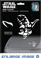 Die-Cut Decal - Star Wars - Yoda