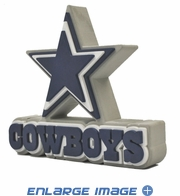 Foam Logo - 3D with Strap - Dallas Cowboys