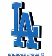 Foam Logo - 3D with Strap - Los Angeles Dodgers