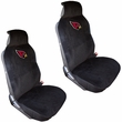 Front Bucket Seat Covers - Car Truck SUV - Universal Low Back - NFL - Arizona Cardinals
