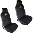 Front Bucket Seat Covers - Car Truck SUV - Universal Low Back - NFL - New York Jets