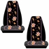 Front Universal Bucket Seat Covers - Car Truck SUV - Disney - Winnie the Pooh - Paradise - PAIR