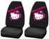 Front Car Truck SUV Bucket Seat Covers - Hello Kitty - Collage - PAIR