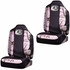 Front Car Truck SUV Bucket Seat Covers - Mossy Oak Infinity Pink Print Camo - PAIR