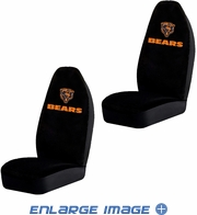 Front Car Truck SUV Bucket Seat Covers - NFL - Chicago Bears - Pair