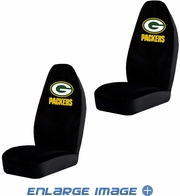 Front Car Truck SUV Bucket Seat Covers - NFL - Green Bay Packers - Pair