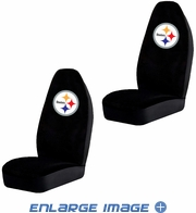 Front Car Truck SUV Bucket Seat Covers - NFL - Pittsburgh Steelers- Pair