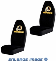 Front Car Truck SUV Bucket Seat Covers - NFL - Washington Redskins - Pair