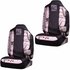 Front Car Truck SUV Bucket Seat Covers - Realtree Girl Pink Logo Outfitters Camo - PAIR
