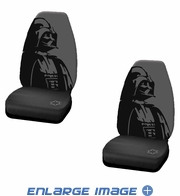 Front Car Truck SUV Bucket Seat Covers - Star Wars - Darth Vader - PAIR