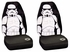 Front Car Truck SUV Bucket Seat Covers - Star Wars - Storm Trooper - PAIR