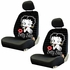 Front Car Truck SUV Low Back Bucket Seat Covers - Betty Boop - Timeless - PAIR