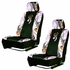 Front Car Truck SUV Low Back Bucket Seat Covers - Camouflage - Browning Buckmark - PAIR