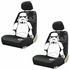 Front Low Back Bucket Seat Covers - Car Truck SUV - Star Wars - Storm Trooper - PAIR