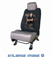 Front Car Truck SUV Low Back Bucket Seat Sleeve - Duck Dynasty - Uncle Si 95% Truthful