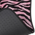 Front & Rear Seat Carpet Floor Mats - Car Truck SUV - Animal Print - Zebra Tiger - Pink