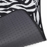 Front & Rear Seat Carpet Floor Mats - Car Truck SUV - Animal Print - Zebra Tiger - White