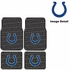 Front & Rear Seat Rubber Floor Mats - Car Truck SUV - Indianapolis Colts