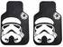 Front & Rear Seat Rubber Floor Mats - Car Truck SUV - Star Wars - Storm Trooper