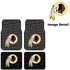 Front & Rear Seat Rubber Floor Mats - Car Truck SUV - Washington Redskins