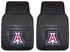 Front & Rear Seat Vinyl Floor Mats - Car Truck SUV - University of Arizona