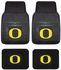 Front & Rear Seat Vinyl Floor Mats - Car Truck SUV - University of Oregon