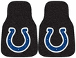 Front Seat Carpet Floor Mats - Car Truck SUV - Indianapolis Colts