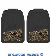 Front Seat Heavy Duty Trim-to-Fit Floor Mats - Car Truck SUV - Ducks Dynasty