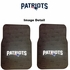Front Seat Rubber Floor Mats - Car Truck SUV - New England Patriots